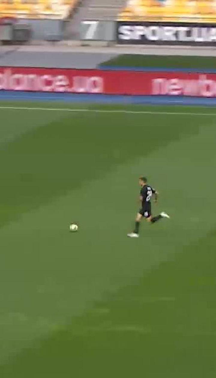 Динамо - Зоря - 0:1. Відео голу Громова