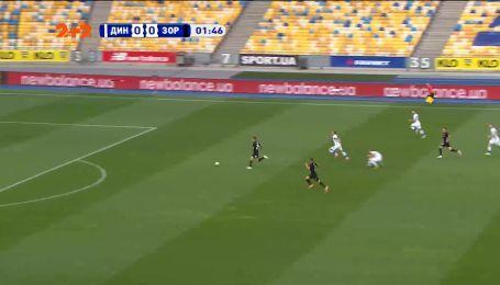 Динамо - Заря - 0:1. Видео гола Громова