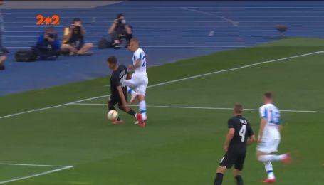 Динамо - Зоря - 1:1. Відео голу Циганкова