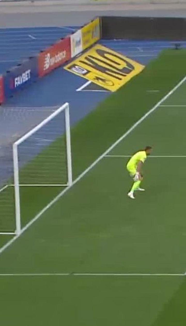 Динамо - Зоря - 2:1. Відео сейву Бущана