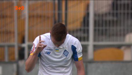 Динамо - Заря - 3:1. Видео второго гола Циганкова