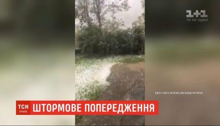 В Ивано-Франковской области объявили штормовое предупреждение