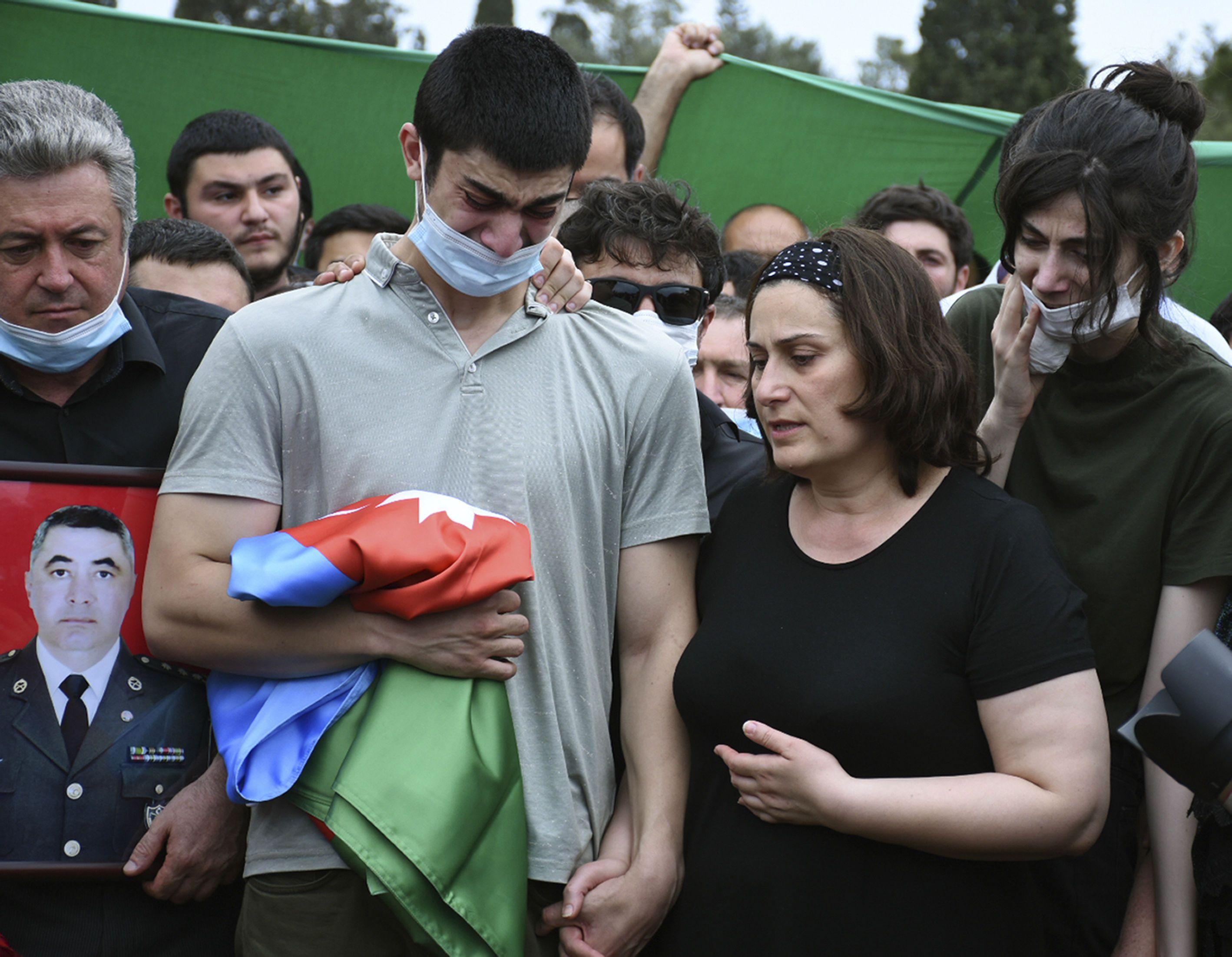 похорон Азербайджанського військового