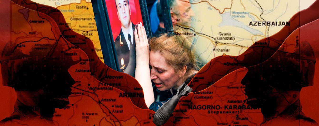 Вірменія та Азербайджан знову проливають кров на кордоні: чому країни взялися за зброю і що не поділили