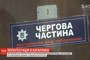 В Кагарлицком отделении полиции завершилась переаттестация