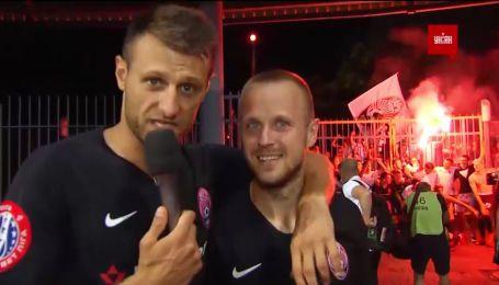 Виталий Вернидуб стал футбольным журналистом: как Заря празднует бронзу