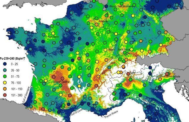 радіація в європі