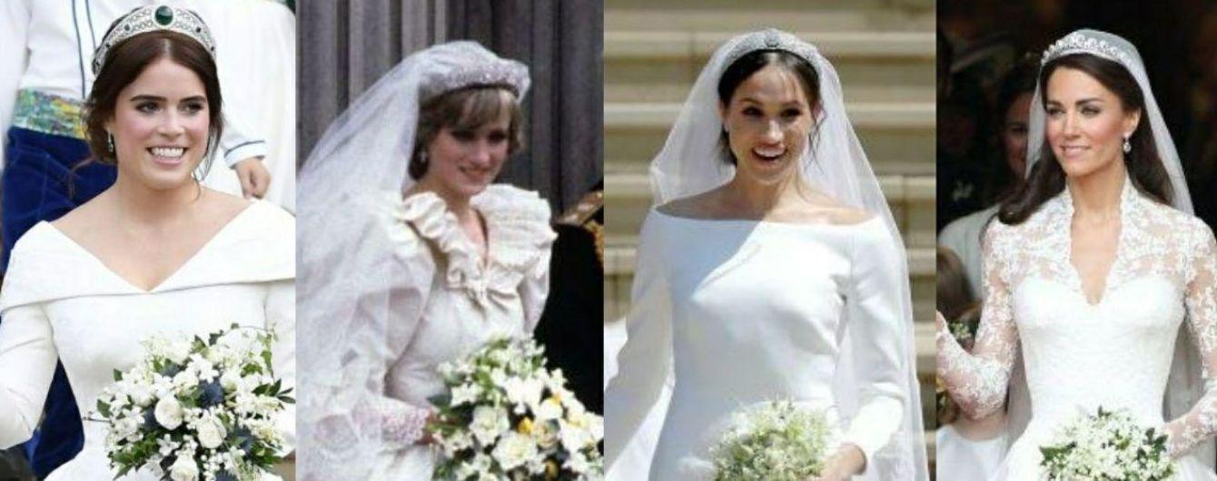 Квіти для принцес: з якими букетами виходили заміж наречені британської королівської сім'ї