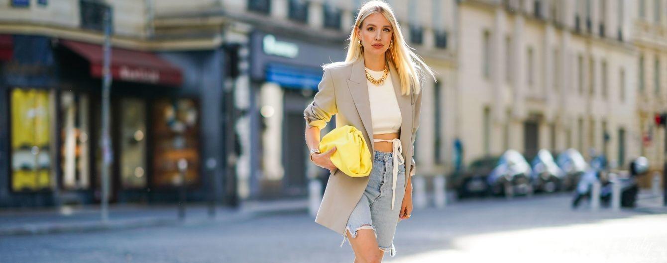 Модная вещь: джинсовые шорты как альтернатива мини-юбке