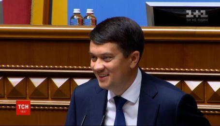Рада может рассмотреть языковой законопроект Бужанского на внеочередной сессии – Разумков