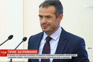 """У Польщі затримали колишнього керівника """"Укравтодору"""" Новака"""