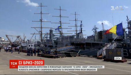 """Пандемия внесла коррективы в международные учения """"Си Бриз-2020"""" в Одессе"""