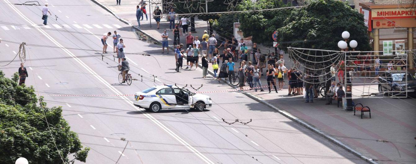 Захват заложников в Луцке: террорист обстрелял дрон СБУ