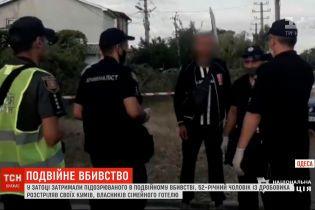Двойное убийство в Затоке: полиция задержала подозреваемого