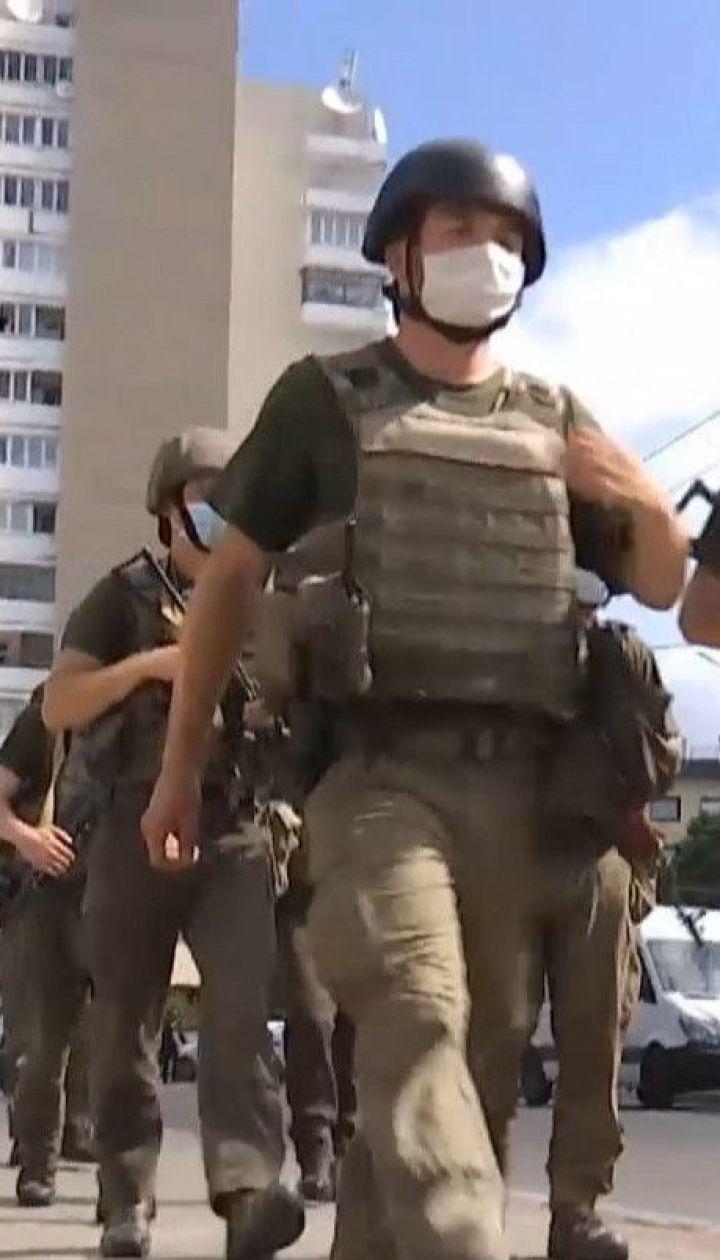 Захват заложников в Луцке: что происходит в центре города
