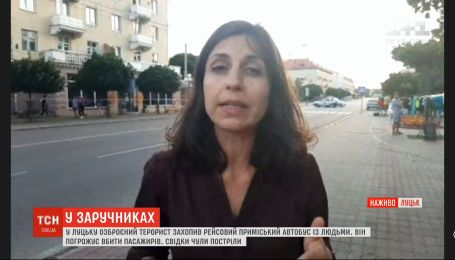 Террорист из Луцка пообщался с журналистами и обозвал власть