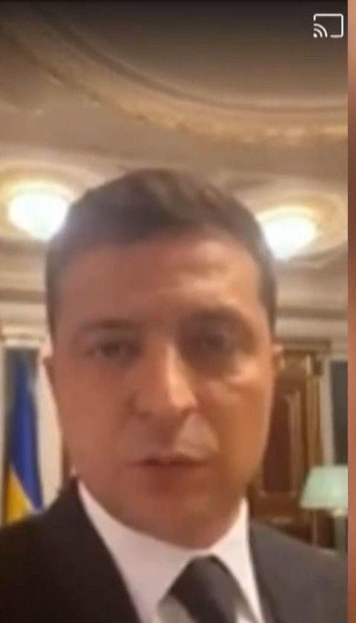 Зеленський опублікував відео Facebook на вимогу терориста, але згодом видалив його