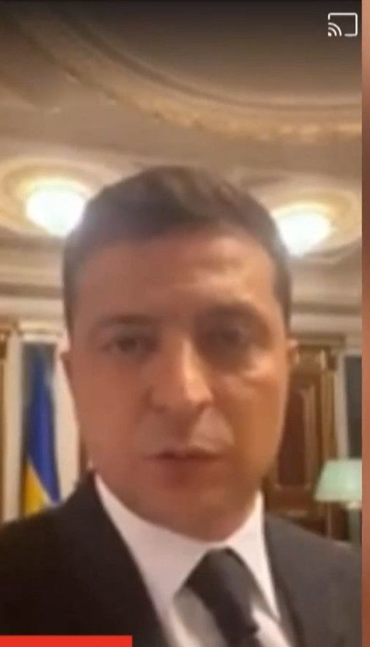 Зеленский опубликовал видео Facebook по требованию террориста, но потом удалил его