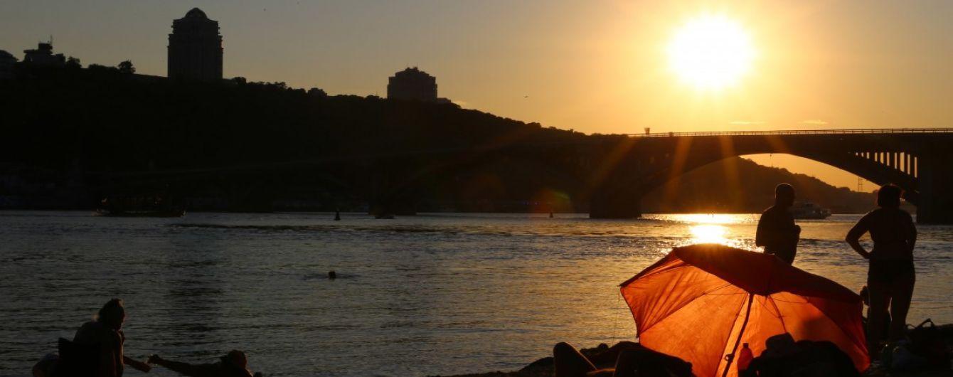 В Киеве на 10 пляжах запрещено купаться: список