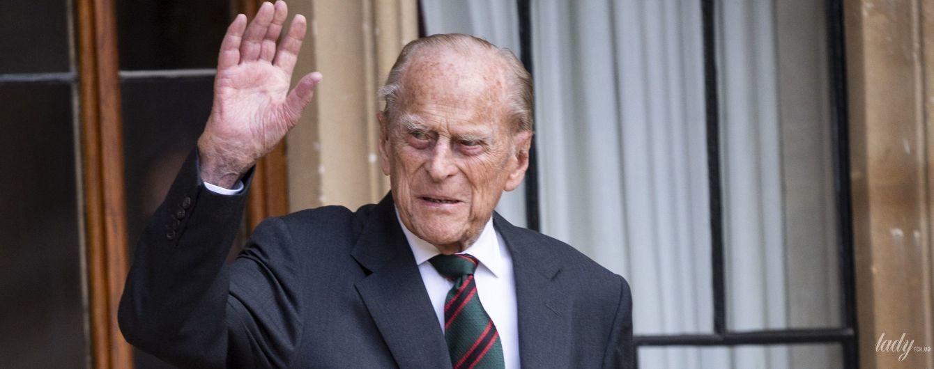 В хорошей форме: 99-летний супруг королевы Елизаветы - принц Филипп - на публичном мероприятии
