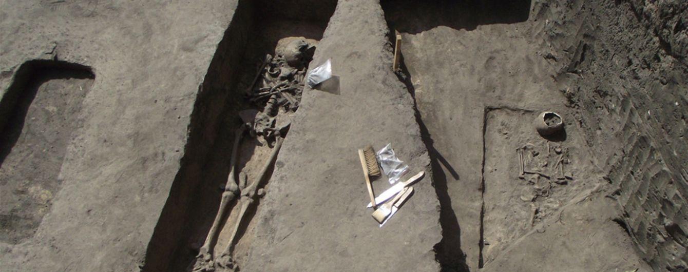 В Киевской области нашли древнее захоронение