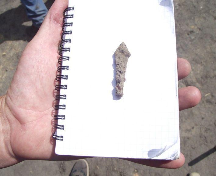 Наконечник стріли ХІ-ХІІІ ст. теж знайдено тут