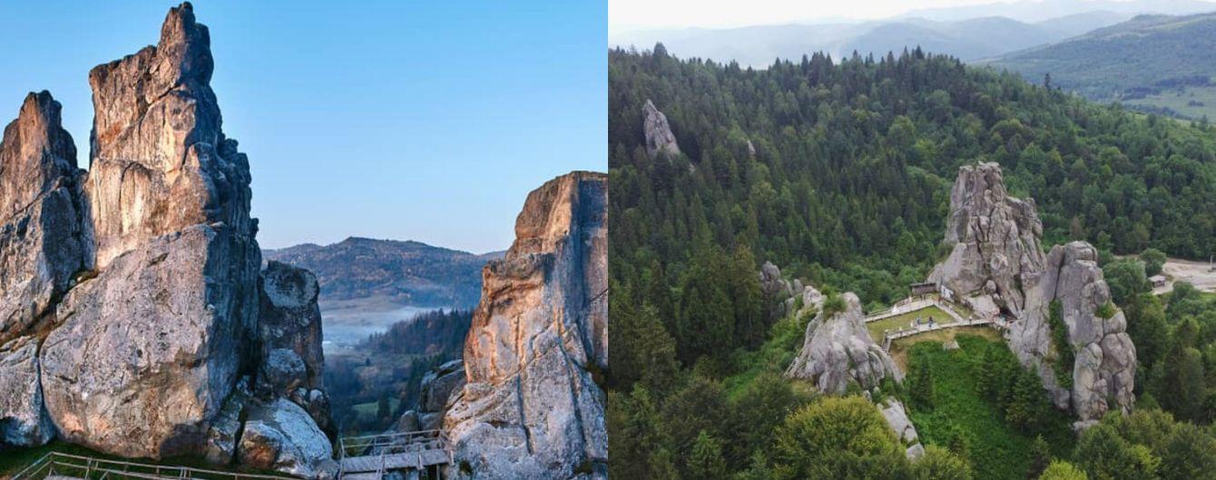 Тустань во Львовской области: уикенд с прогулкой по живописным руинам крепости на скалах