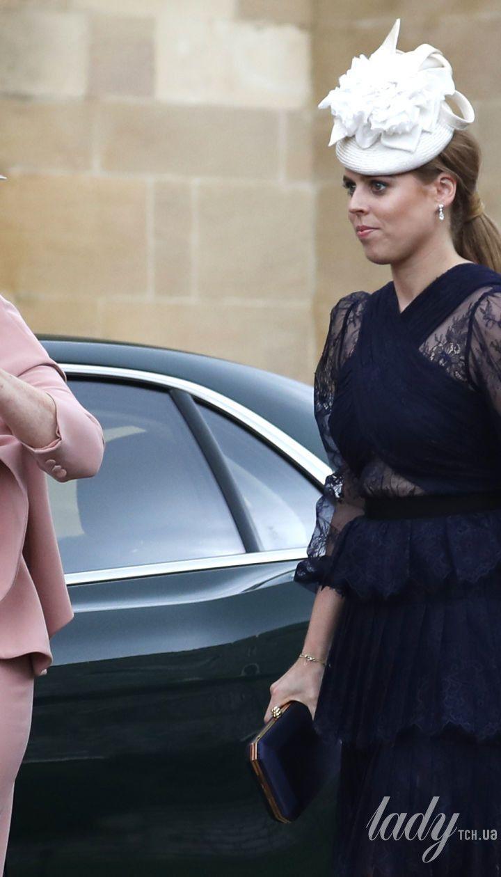 Сара Йоркская и ее старшая дочь принцесса Беатрис
