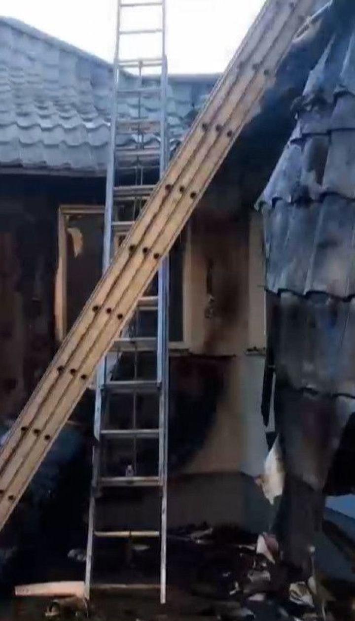 Шабунин заявил о поджоге его дома в Киеве