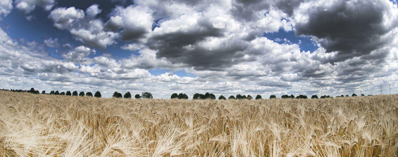 Погода на воскресенье: в Украине местами дожди и до 26 градусов тепла