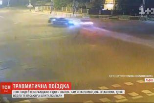 Троє людей отримали травми в результаті ДТП у Львові