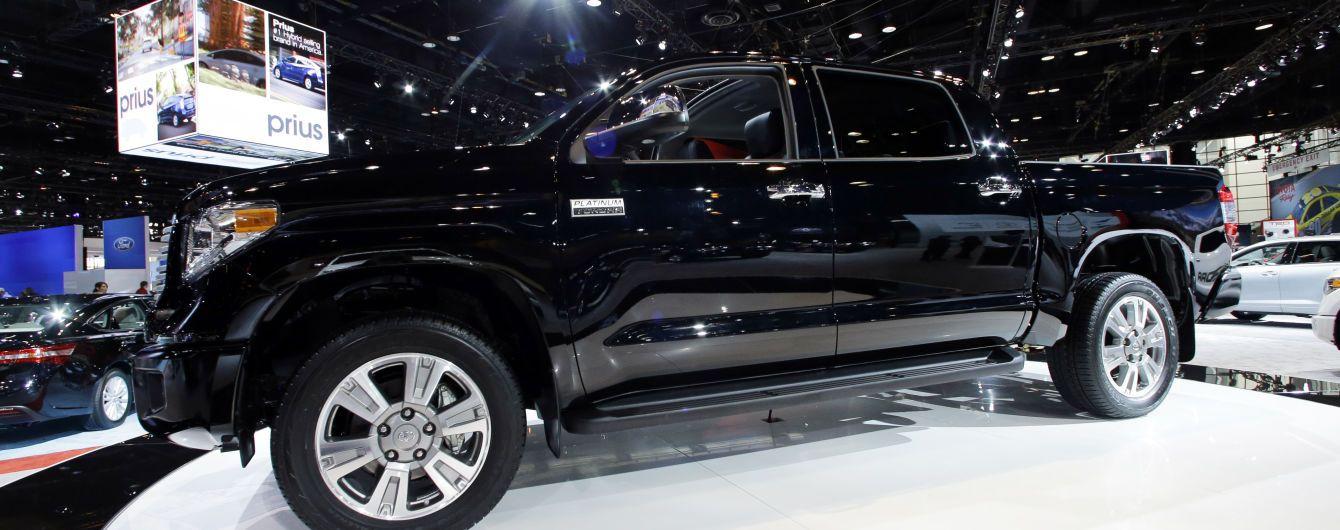 Toyota отзовет почти 200 тысяч пикапов Tundra: названа причина