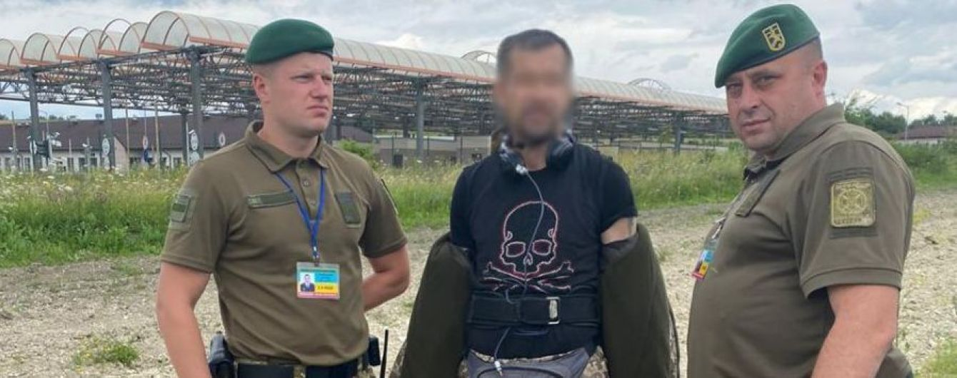 Латыш попытался пересечь границу, изображая из себя украинского таможенника
