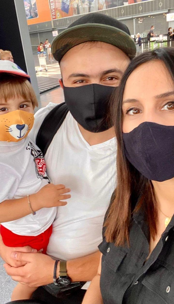 Джамала с семьей на отдыхе в Турции