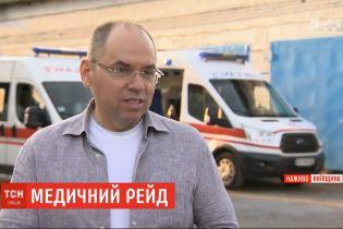 Максим Степанов устроил проверку экстренной скорой помощи в Киевской области