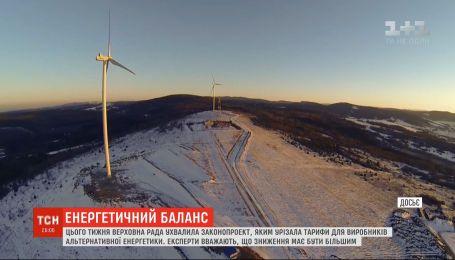 """Нардепи і експерти заявили про загрози для економіки, які несе рішення Ради про зменшення """"зеленого тарифу"""""""