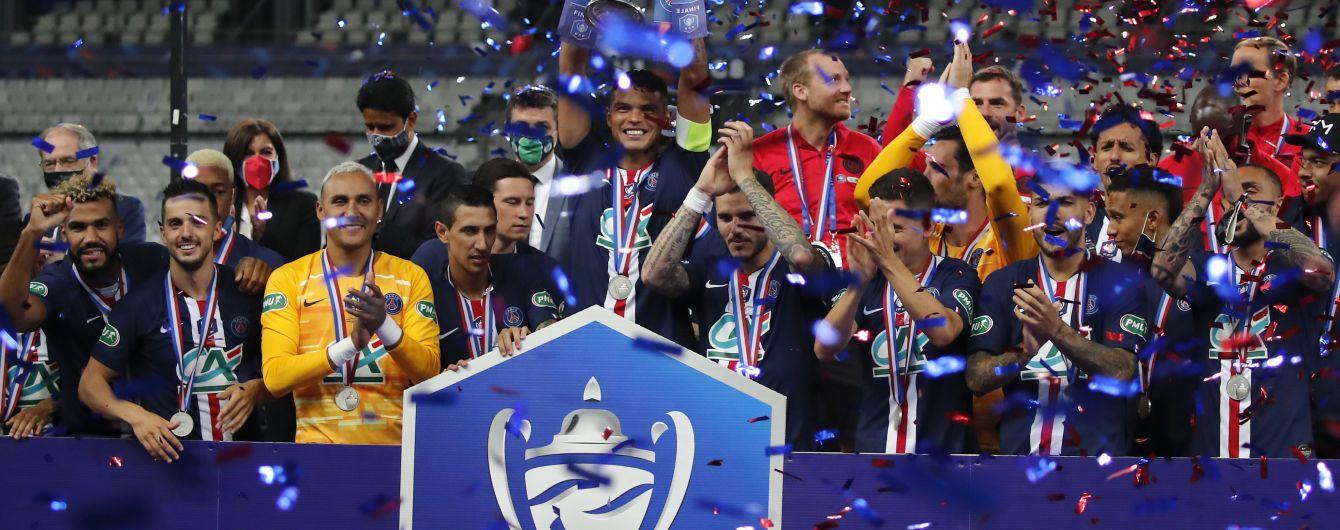 ПСЖ став володарем Кубка Франції, Мбаппе отримав жахливу травму