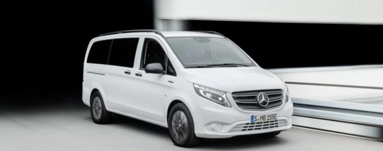 Mercedes-Benz вывел на рынок электрический минивэн eVito Tourer: все подробности и цена