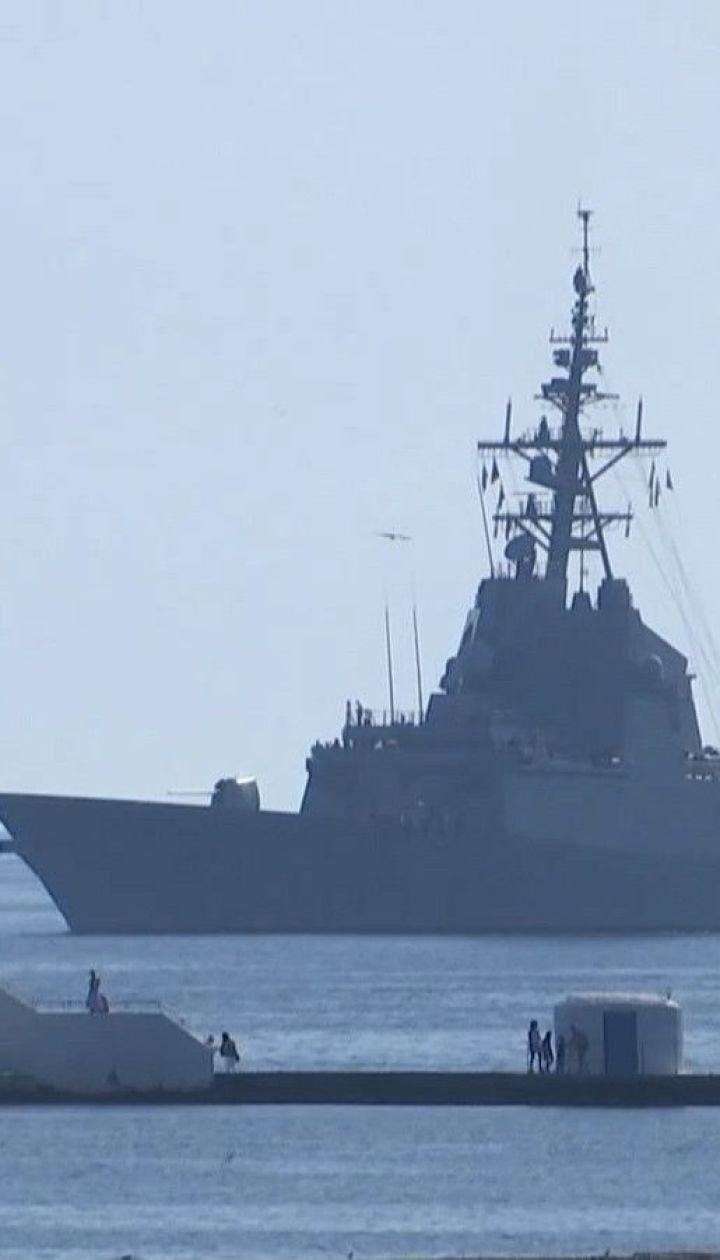 Корабли постоянной группы НАТО вернулись в Одесский залив