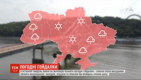 """Погодные """"качели"""" в Украине: сильную жару сменит похолодание"""