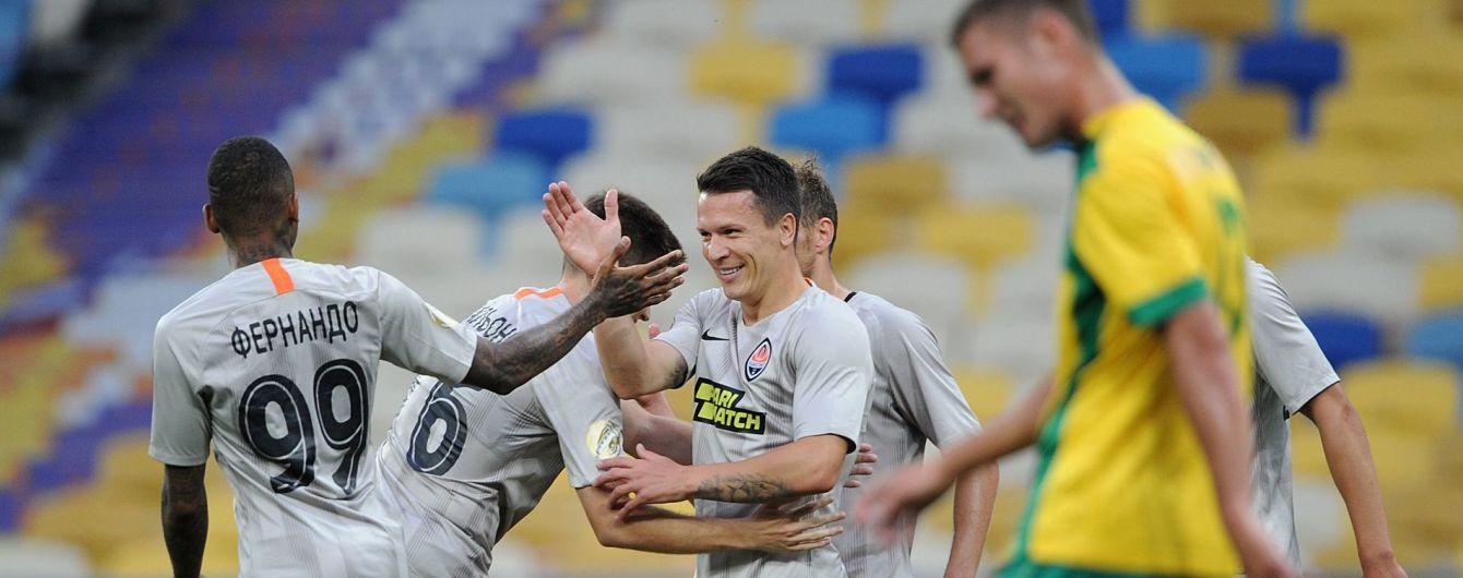 """Підготовка до Ліги Європи: """"Шахтар"""" розгромив команду Другої ліги, Каштру бракує сильних суперників"""