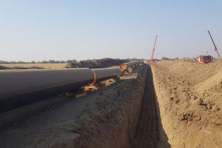 В Болгарии мощно взорвался один из газопроводов
