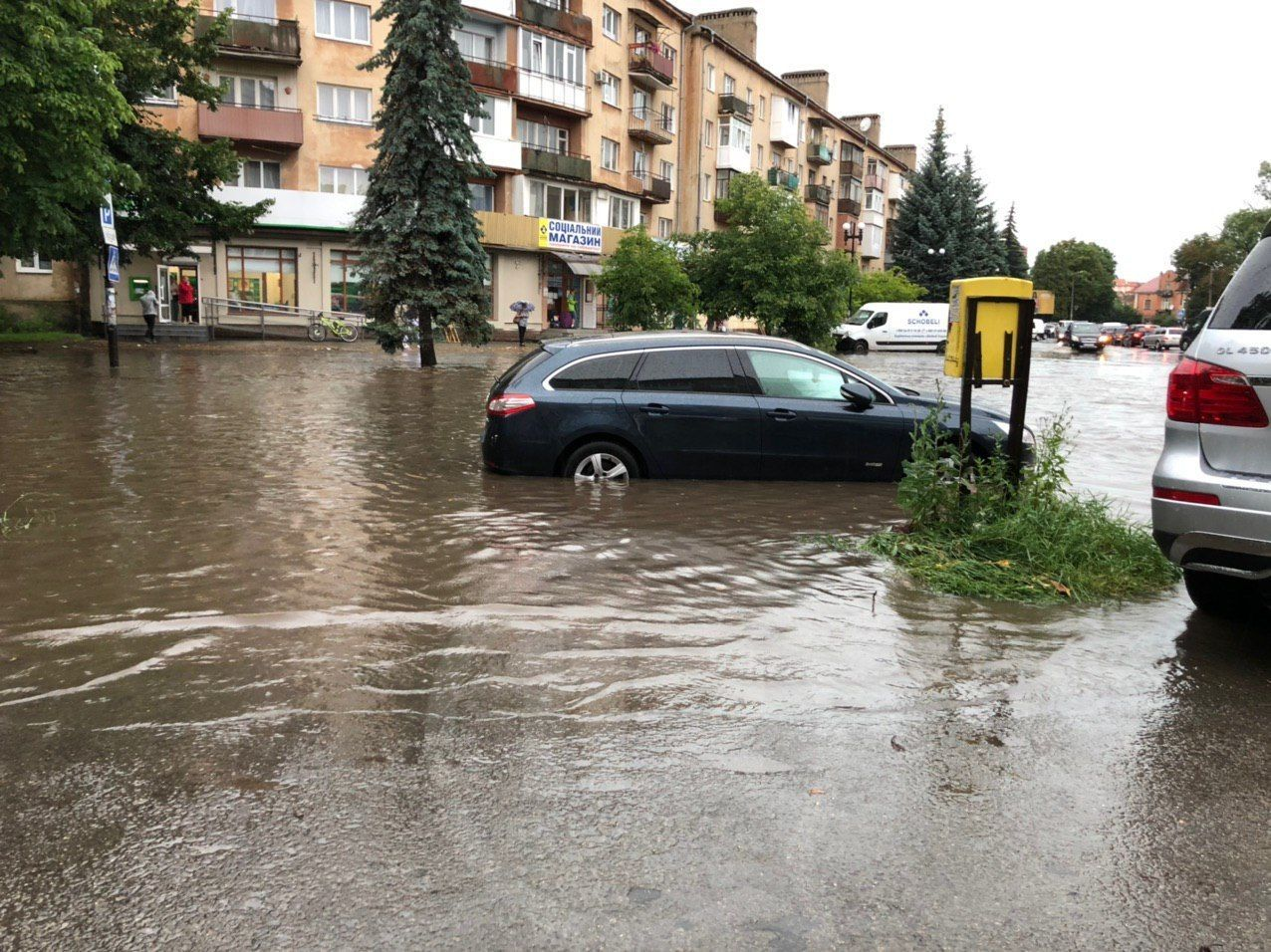 Злива, підтоплення, Івано-Франківськ_1