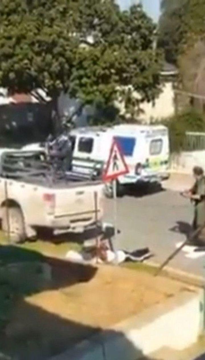 Массовое бегство из тюрьмы в ЮАР снял случайный свидетель