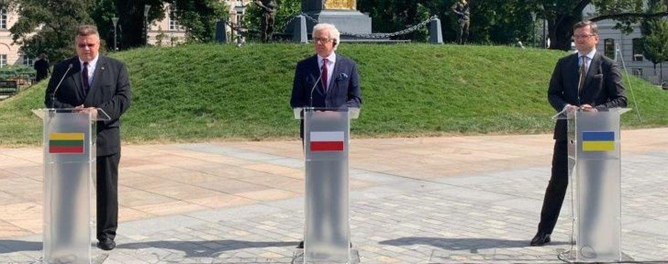 """""""Люблинский треугольник"""": Украина и еще две страны создали новый формат сотрудничества"""