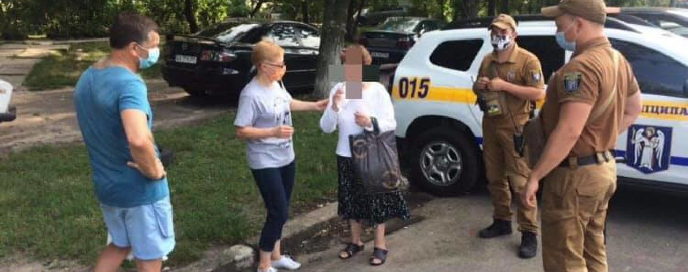 В киевском лесу нашли 78-летнюю бабушку, которая из-за потери памяти не могла вернуться домой