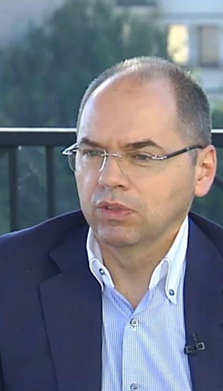 Максим Степанов: в Украине каждые 5 дней будут пересматривать принадлежность регионов к зонам карантина