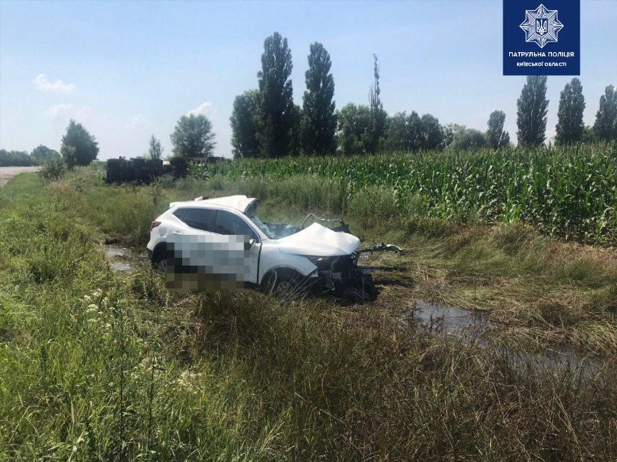 ДТП у Макарові, водійка позашляховика сильно травмувалася