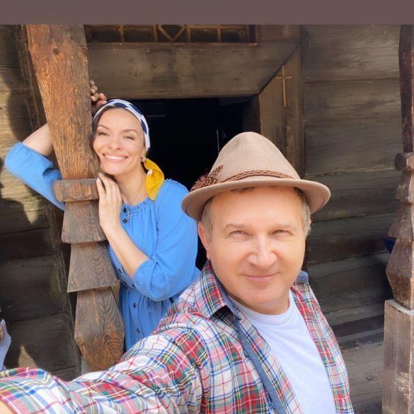 Надя Мейхер и Юрий Горбунов