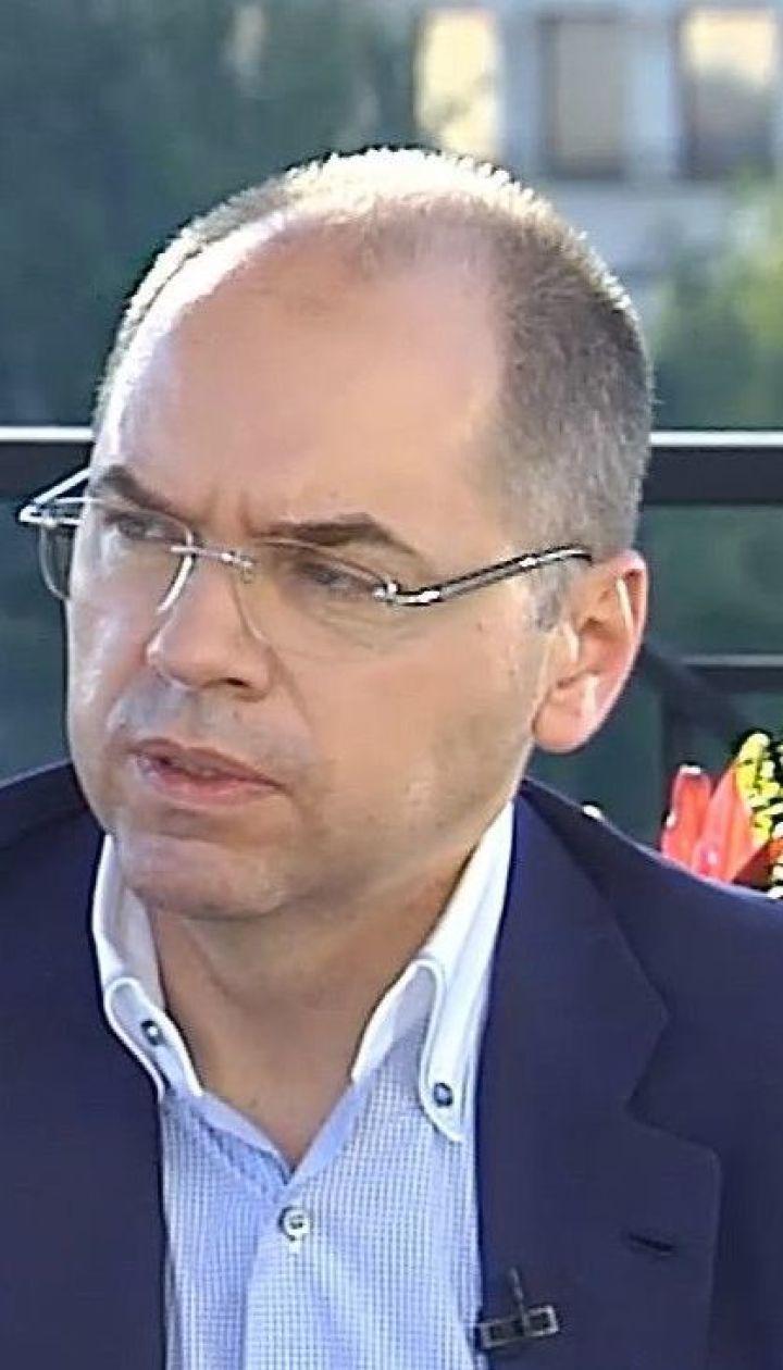 Очільник МОЗ Максим Степанов про ймовірну відставку та нові правила адаптивного карантину з 1 серпня